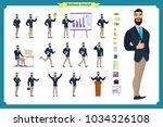 people character business set... | Shutterstock .eps vector #1034326108