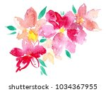 Flowers Watercolor Illustration ...