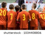 indoor football sports team.... | Shutterstock . vector #1034408806