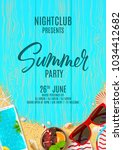 beautiful poster invitation for ... | Shutterstock .eps vector #1034412682
