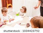 interesting lesson modeling | Shutterstock . vector #1034423752