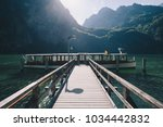 classic view of traditional... | Shutterstock . vector #1034442832