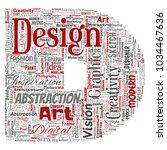 vector conceptual creativity... | Shutterstock .eps vector #1034467636