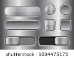 square and round buttons ... | Shutterstock .eps vector #1034475175