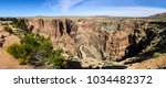 Panoramic View Of Canyon In...