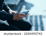 man  phone                 Shutterstock . vector #1034493742