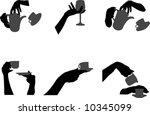 hands | Shutterstock .eps vector #10345099