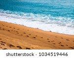 mediterranean sea of spain ...   Shutterstock . vector #1034519446