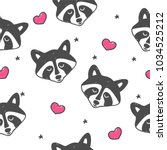 seamless children's pattern... | Shutterstock .eps vector #1034525212