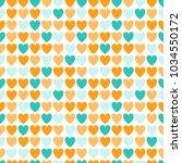 seamless abstract vector... | Shutterstock .eps vector #1034550172