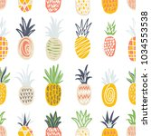 seamless pattern with... | Shutterstock .eps vector #1034553538