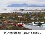 Sky Village And Ice Sea...