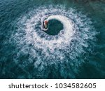 people are playing jet ski at...   Shutterstock . vector #1034582605