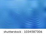 light blue vector pattern with...   Shutterstock .eps vector #1034587306
