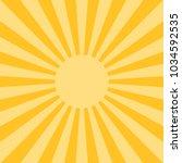 sunlight abstract background.... | Shutterstock .eps vector #1034592535