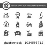 bio fuel vector icons for your... | Shutterstock .eps vector #1034595712