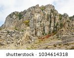 Beautiful Rocky Cliff With...