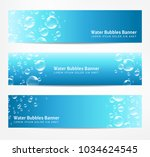 Banners With Water Bubbles  Ca...