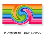 abstract banner card for... | Shutterstock .eps vector #1034624902