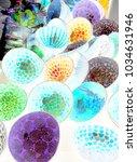 bright colors watercolors... | Shutterstock . vector #1034631946