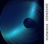 a modern musical banner or... | Shutterstock .eps vector #1034652445