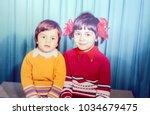 ussr  leningrad   circa 1978 ... | Shutterstock . vector #1034679475