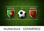 3d rendering   football match... | Shutterstock . vector #1034685832