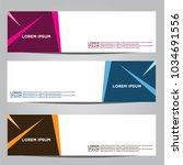 vector design banner... | Shutterstock .eps vector #1034691556