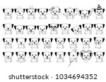 Big Set Of Little Dogs With...