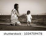 dahab  egypt   01 28 2018 ...   Shutterstock . vector #1034709478