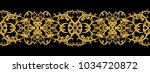 seamless pattern. golden... | Shutterstock . vector #1034720872