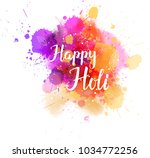 watercolor imitation...   Shutterstock .eps vector #1034772256