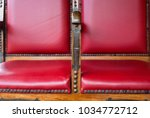 antique chair for shoe... | Shutterstock . vector #1034772712