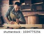confident successful... | Shutterstock . vector #1034775256