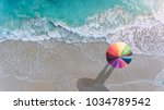 Colorful Of Umbrella On The...