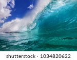Ocean Colorful Bright Wave With ...