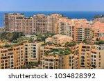 monaco  monte carlo. monaco is... | Shutterstock . vector #1034828392