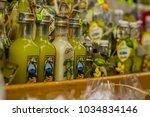 small limoncello bottles for...   Shutterstock . vector #1034834146