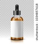 vector illustration of glass...   Shutterstock .eps vector #1034857618
