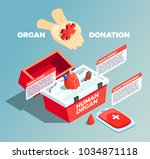 Organ Donation Isometric...