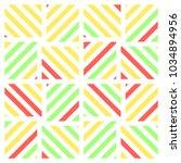 bright tile pattern | Shutterstock .eps vector #1034894956