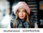 close up portrait of a... | Shutterstock . vector #1034902936