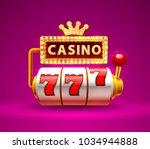 casino slots 777 casino jackpot ...   Shutterstock .eps vector #1034944888