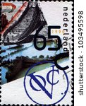 netherlands   circa 1990  a... | Shutterstock . vector #103495598