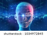 face detection and recognition... | Shutterstock . vector #1034972845