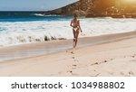 dainty thin young brazilian... | Shutterstock . vector #1034988802
