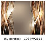 abstract vector background.... | Shutterstock .eps vector #1034992918
