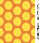 floral seamless pattern. hand... | Shutterstock .eps vector #1034993092