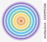 halftone background. rainbow... | Shutterstock .eps vector #1034995186