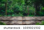 empty step grunge wood table...   Shutterstock . vector #1035021532